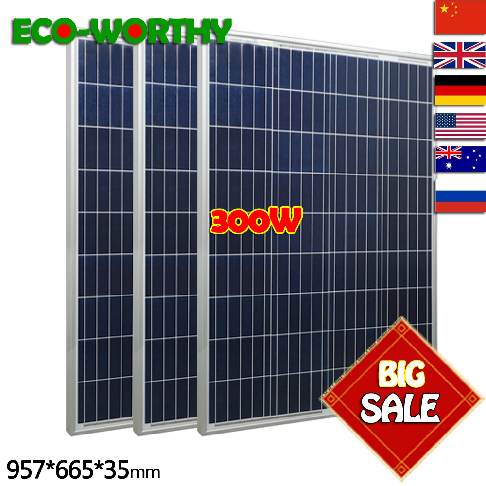 Buying Guide 300w 12V Poly Solar Panel Kit Advanced RV Solar