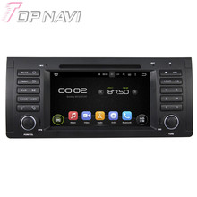Quad Core Android 5.1 Car GPS Navigation For BMW M5 E39 (1995-2003) X5 E53 (2000-2007) With Radio Multimedia Video Mirror Link