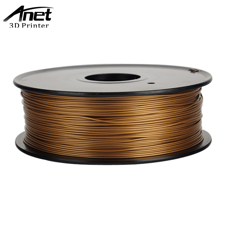 ANET ABS 10 Colors Optional 3D Printer ABS Filament Samples 1KG roll 1 75mm for 3D