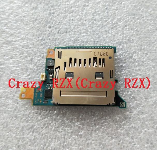 Original nouveau pour Sony A7 A7R ILCE-7R carte SD Slot Board lecteur de carte SD caméra numérique pièce de réparation