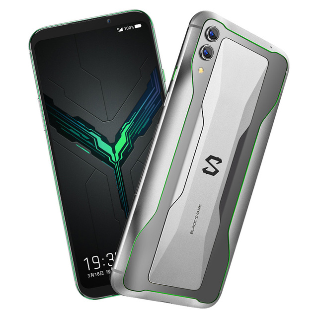 "Global Version Xiaomi Black Shark 2 6GB 128GB Gaming Phone Snapdragon 855 Octa Core 6.39"" AMOLED Screen Mobile Phone 48MP Camera"