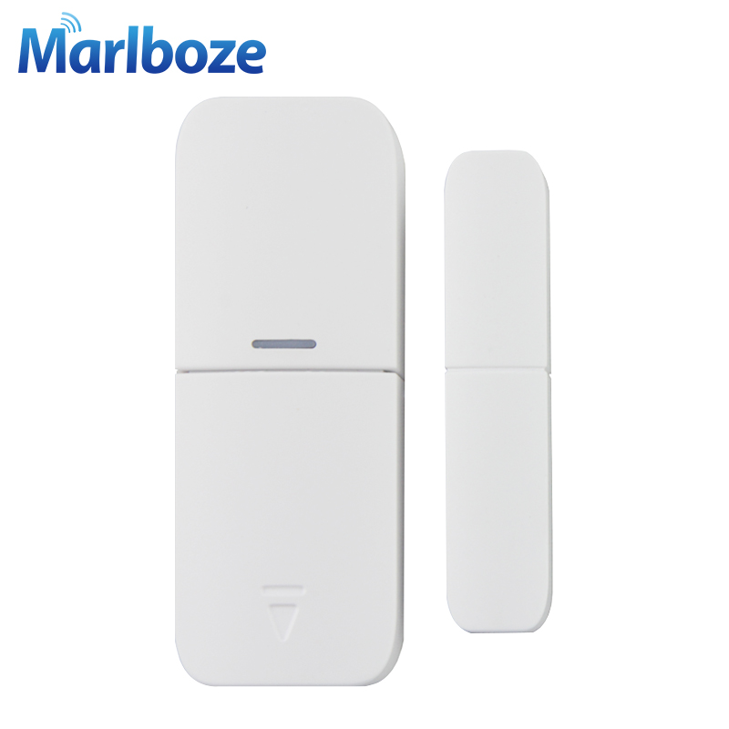 Marlboze Z Wave 868mhz Wireless Door Window Sensor EU Version Smart Home Security Alarm Z-wave Door Window Magnetic Gap Sensor high quality hot sale 100db wireless alarm system burglar safely security window door home magnetic sensor best promotion
