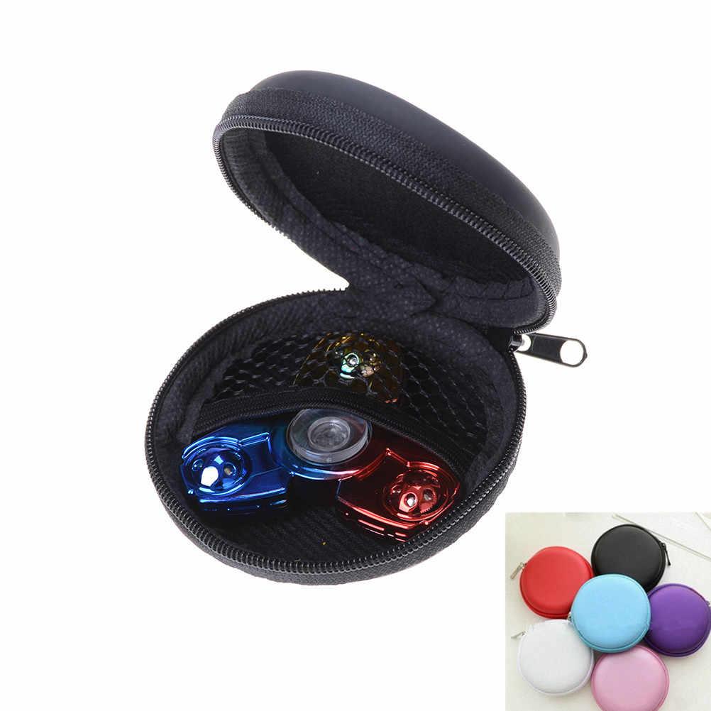 Fidget spinner caixa fidget brinquedo dedo giroscópio mão caixa de couro flip capa protetora para elephone g6 smartphone branco