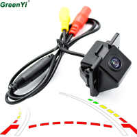 GreenYi Dynamic Track Rearview Camera For Mitsubishi Outlander 2007 - 2015 Rear Camera Kit Vehicle Water-proof Parking Assist