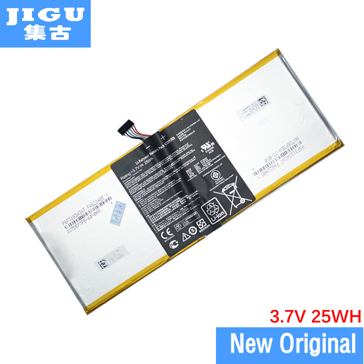 JIGU Original Laptop Battery C12P1301 For ASUS For MEMO PAD K00A (ME302C) For MemoPad 10.1 TF303K 1B014A