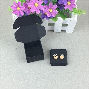 Image 4 - 100 Set עגילי כרטיס קופסא תכשיטי קראפט & מציג תכשיטי כרטיסי תכשיטי סט תכשיטי אריזה/מתנה בעבודת יד קופסות