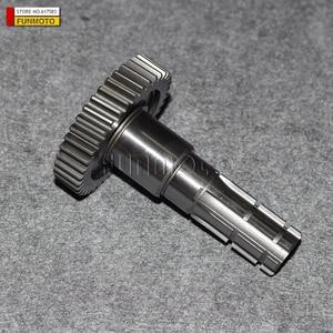 Image 4 - GEARSHIFT SHAFT 17T/49T 36T /OUTPUT SHAFT 40T OF GY6150 /E TON /DF MOTOR/DF150GKA/SYM QUADLANDER 200/HAMMER 150 BUGGY
