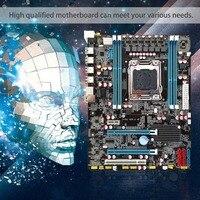 Intel X79 материнской процессор ОЗУ LGA2011 регистровая и ecc память C2 Memory32G DDR3 4 Каналы Поддержка E5 2670 I7 шесть и восемь основных Процессор