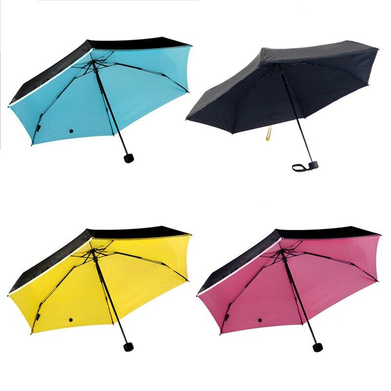 mini pocket women umbrellas parasol folding male umbrella rain women anti uv guarda chuva. Black Bedroom Furniture Sets. Home Design Ideas