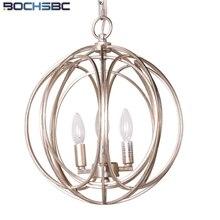 Lámpara colgante BOCHSBC, estilo americano, Estilo Vintage, lámpara colgante de cristal para lámpara, lámpara para comedor, Bar, dormitorio, luces literarias
