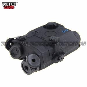 Airsoft Tactical RIS Installation Battery Box Model Virtual AN / PEQ 15 Tan / Black / FG(China)