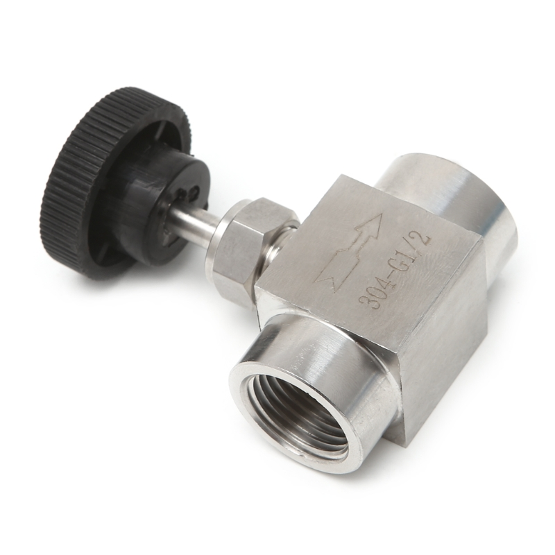 Needle Valve Female Thread 304 Stainless Steel Flow Control Shut Off 915 PSI