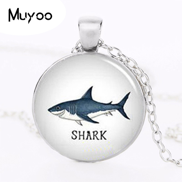 Wholesale glass cabochon necklace pendant shark necklace circling wholesale glass cabochon necklace pendant shark necklace circling sharks pendant necklace glass dome pendant hz1 aloadofball Gallery