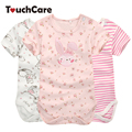 Moms Care Cartoon Cotton Baby Rompers Summer Short Sleeve Baby Wear Infant Jumpsuit Boys Girls Clothes Roupas De Bebe Infantil