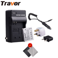 Travor Battery And Charger Kit For Canon NB 4L CB 2LV Work With Canon PowerShot SD40