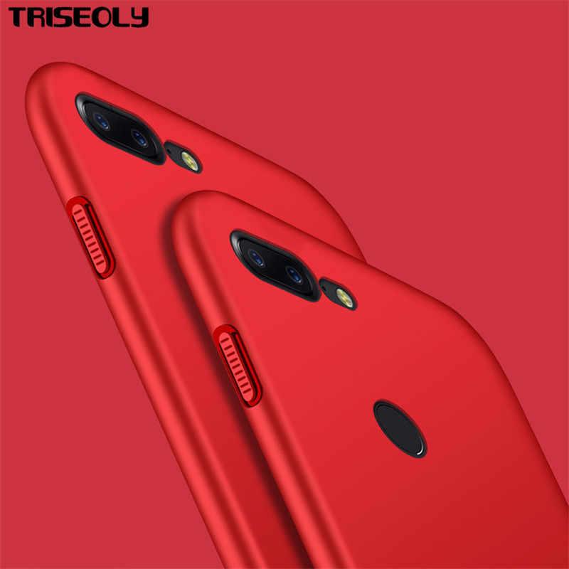 מקרה Oneplus יוקרה Ultra thin מקרה אחד ועוד 5 T 5 T קשה החלבית חומת חזרה טלפון כיסוי כיסוי עבור Oneplus 6 Oneplus6 Case1 + 5