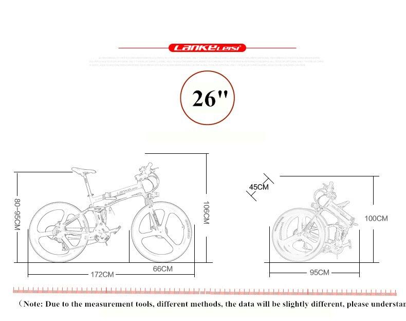 "HTB1K0PhazuhSKJjSspaq6xFgFXaY - XT750D 27 Velocity 500W Tremendous Energy Excessive High quality 26"" Foldable Electrical Bicycle, 36V/48V Hidden Lithium Battery Mountain Bike MTB"