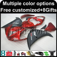 8Gifts Red Black YZFR1 2009 2010 2011 Yzf R1 ABS Motorcycle Fairing For Yamaha