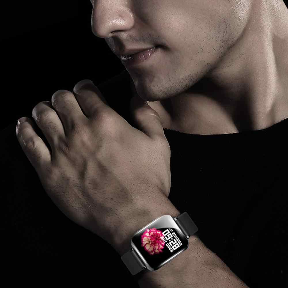 B57 smart watch wodoodporna tętno monitora ciśnienia krwi, wiele trybów sportowych smartwatch kobiety poręczny zegarek mężczyźni Inteligentny zegar