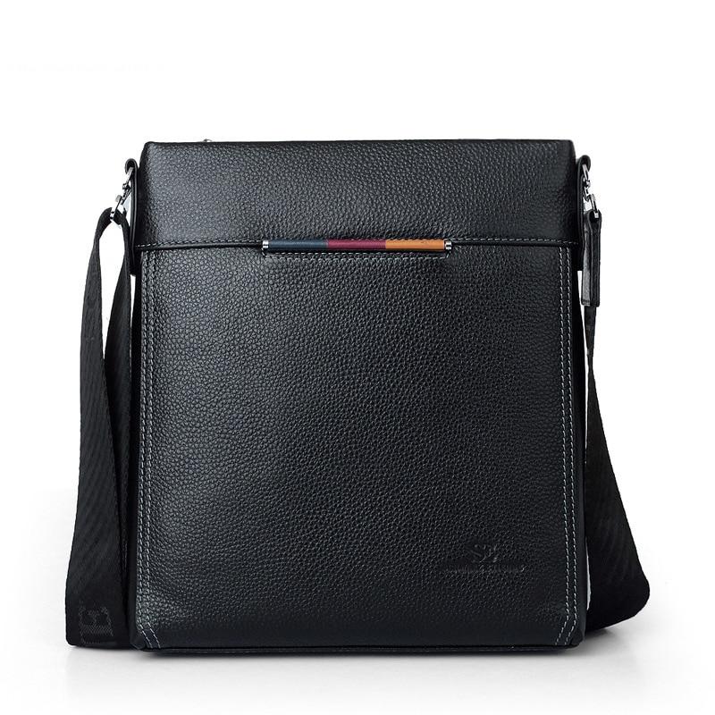 New arrival hot sale fashion men shoulder bag, men genuine leather messenger bag,high quality business bag, polo men briefcase все цены