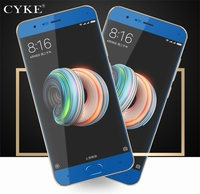 CYKE 2Pcs/Lot screen protector For Xiaomi mi note 3 glass tempered full cover blue For xiaomi note3 glass film 5.5