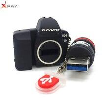 cartoon Thumb SLR camera pen drive 4GB usb flash 8GB 16GB 32GB 64GB 128GB pendrive high speed memory stick u disk