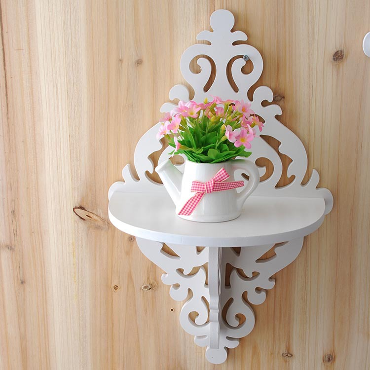 Diamond Shaped Wooden Wall Shelf Ledge For Decoration Or Key Holder 2 Pieces In Storage Holders Racks From Home Garden On Aliexpress