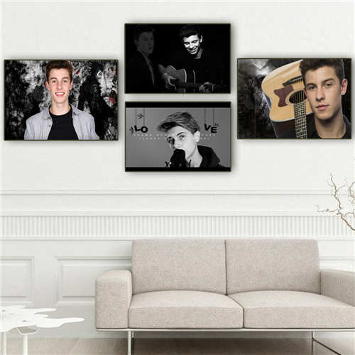 Superb Us 2 47 20 Off Custom Canvas Poster Shawn Mendes 24 Printing Posters Cloth Fabric Wall Art Pictures For Living Room Decor18 12 05 H 03 134 In Download Free Architecture Designs Scobabritishbridgeorg