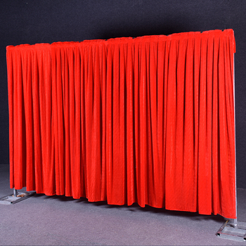 Flannel velvet none transparent wedding backdrop curtain drapes wedding supplies background for party event birthday stage decor