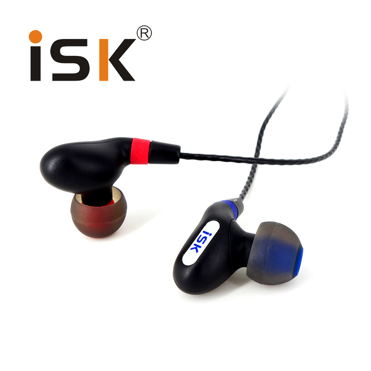 Promotion Price Original ISK SEM9 Hifi Stereo Earphone Professional Monitoring Headset Headphones in Ear 3.5mm Jackplug Earbuds original senfer dt2 ie800 dynamic with 2ba hybrid drive in ear earphone ceramic hifi earphone earbuds with mmcx interface
