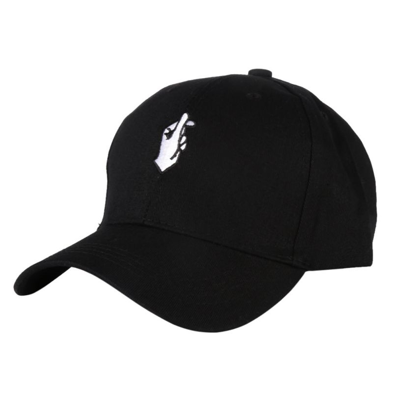 Men Women Peaked Hat HipHop Curved Strapback Baseball Tennis Cap Adjustable Hats