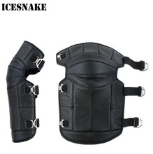ICESNAKE Keep Warm Winter Motorcycle Rider Kneepad Knee Pads Protective Guard Outdoor Sport Tactical Protection