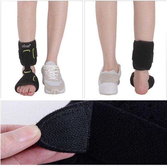 1 pièces réglable cheville garde noir soutien cheville stabilisateur soulagement de la douleur pied Compression noir pression pansement - 6
