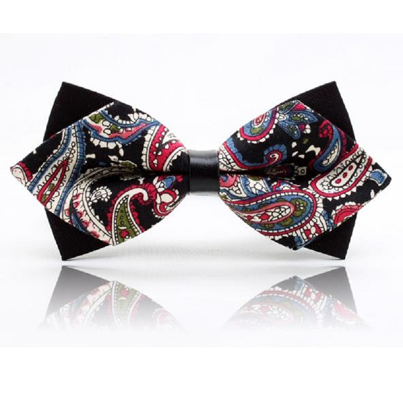 2018 Fashion butterfly neck ties for men adult bow tie PU cravat bowtie party gravata corbatas