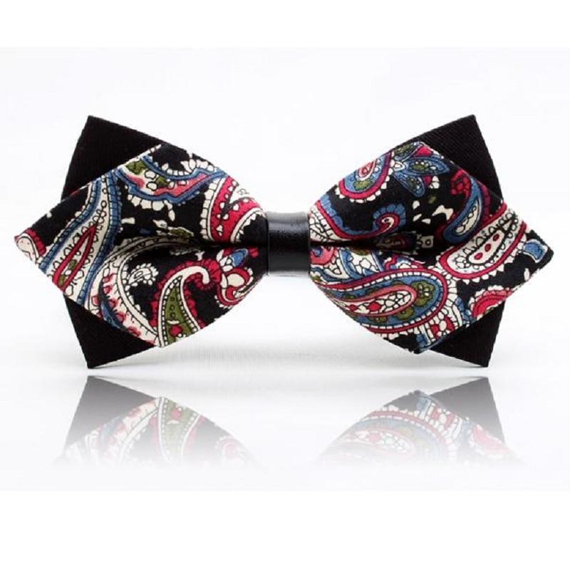 2018 Módní motýlkové kravaty pro muže dospělý motýlek PU kravata motýlek strana gravata corbatas