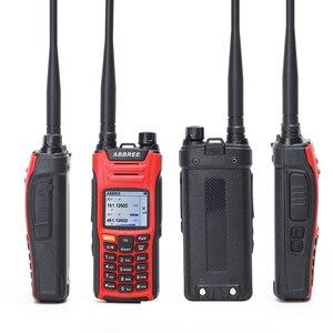 Image 5 - Рация ABBREE, 6 полос, двойной дисплей, 999CH, многофункциональная, VOX, DTMF, SOS, ЖК дисплей, цветной дисплей, радиоприемник