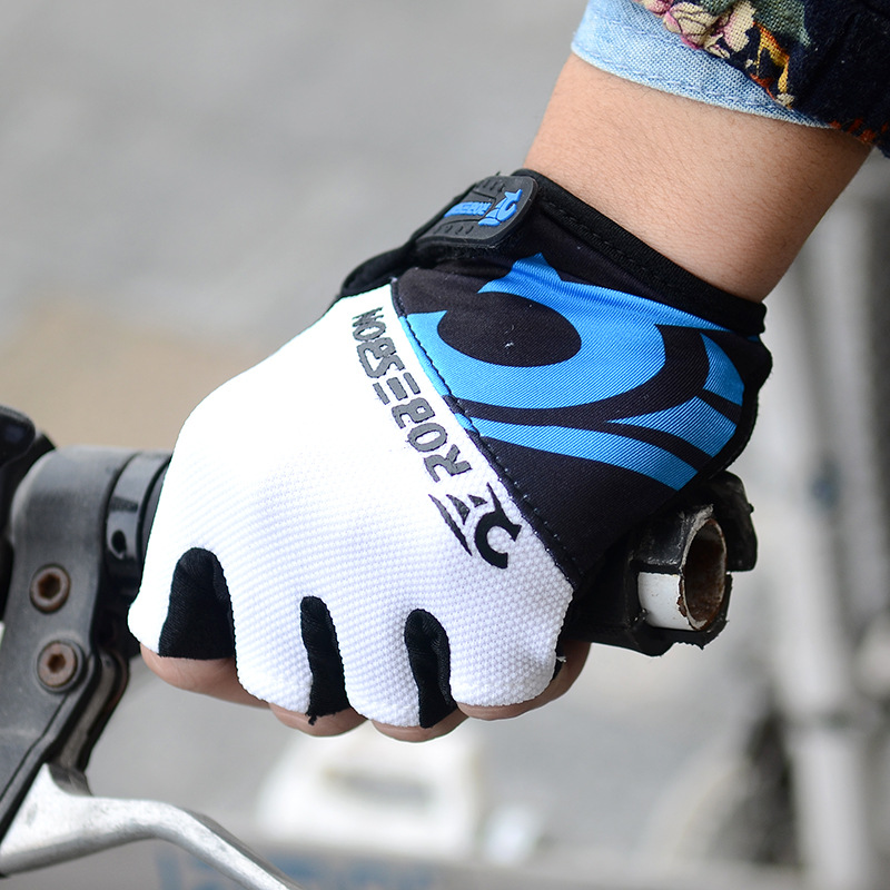 Road Bike Cycling Half Finger Gloves BMX Bicycle Riding Race Fingerless  NwT Np