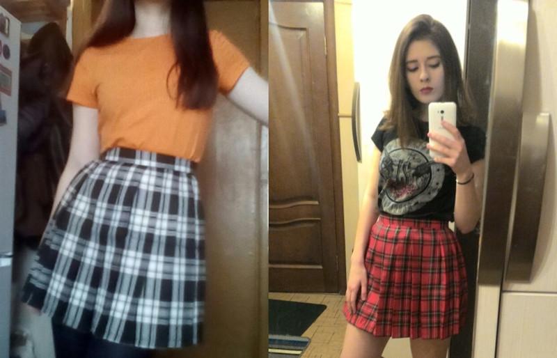 HTB1K0RSQpXXXXaAapXXq6xXFXXXP - FREE SHIPPING Women Summer high waist pleated skirt  JKP106
