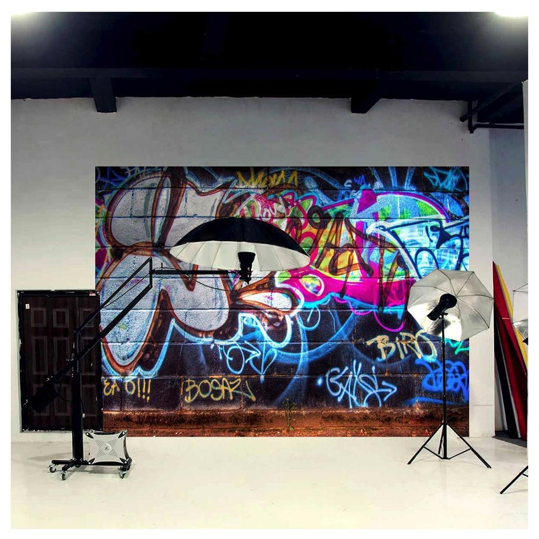 Graffiti wall vinyl - Top Deals 3x5ft Vinyl Photography Backdrop Wall Photo Background Graffiti China