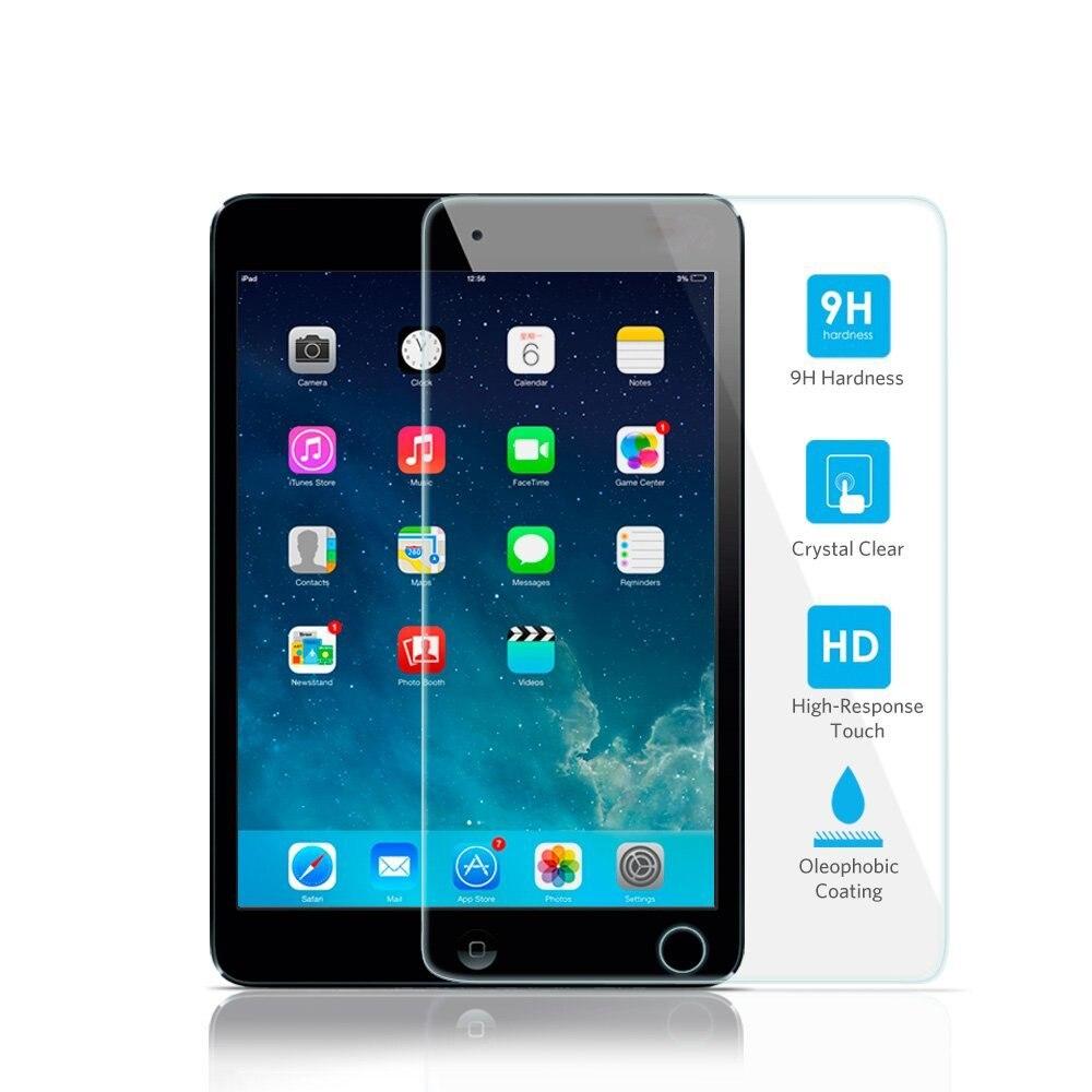 Vente en gros film de verre 9 H pour ipad 2 3 4 mini 1 2 3 4 ipad Air 2 PRO 9.7