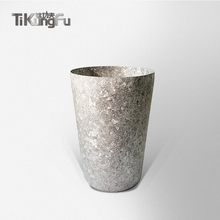 Titanium Double-wall Tumbler Vacuum Silver Water Cup Japanese Gift Beer Coffee Tea Sake Tikungfu Hot Sale Free Shipping