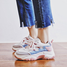 2019 The new Sell well simple fashionable casual womens shoes spring trend Mixed colors white female Breathable sneakers