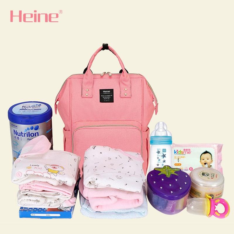 Heine Poliester duża torba na pieluchy dla niemowląt zmiana - Pieluchy i Trenowanie toalety - Zdjęcie 5