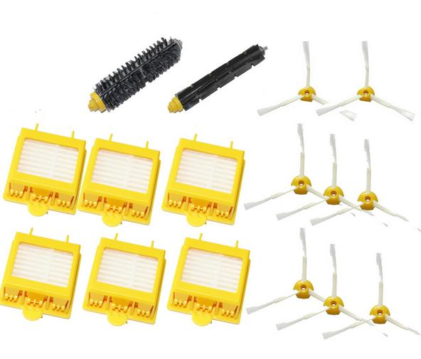 main Brush + side brush+hepa filter kit for iRobot Roomba 600 700 Series 650 660 670 760 770 780 790 vacuum cleaner accessories