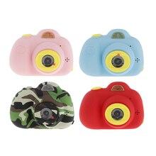 Детская игрушечная видеокамера, Противоударная Детская Цифровая видеокамера для селфи, двойной объектив 8 Мп, креативные подарки на день рождения для мальчиков и девочек