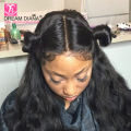 Malaysian Body Wave Lace Frontal Closure With Bundles 360 Lace Frontal With Bundle Elastic Band Pre plucked Frontal With Bundles