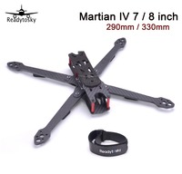 REPTILE Martian IV 7 8 inch 290 / 330 290mm 330mm 4mm Arm Thickness Carbon Fiber Frame Kit w/ PDB For QAV QAV R FPV Racing