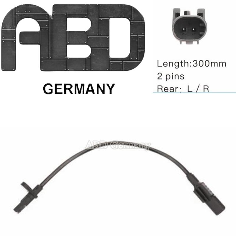 ABD Alemanha ABS Da Roda Sensor De Velocidade 166 905 41 02 para BENZ M W166  GLE W166  GLE C 292  GLS X 166|Sensores ABS| |  - title=