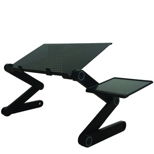 Image 2 - Adjustable Portable Laptop Table Stand Lap Sofa Bed Tray Computer Notebook Desk bed table