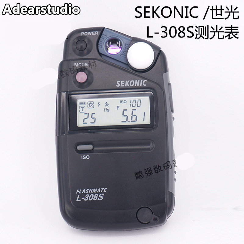 Sekonic L-308S Flashmate Digital Incident, Reflected & Flash Light Meter high precision digital light lux meter NO00DC экспонометр world of light sekonic l 758c